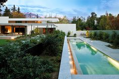 Residencia Fray León House, Chile | #pool #lappool
