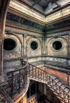 Photograph Soul of emptiness by Pati Makowska on 500px. Abandoned Palace, Poland