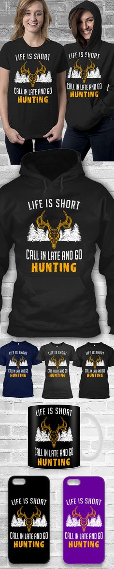 Call In Late Shirts ! Click The Image To Buy It Now or Tag Someone You Want To Buy This For.  #hunting
