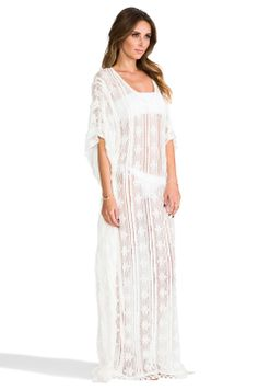 @Ahna Childress (with a slip underneath) ?? PILYQ Brynn Dress in Bahama White