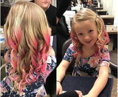 Long Haircuts For Girls With Wavy Hair Girls Haircuts With Layers, Long Haircuts With Bangs, Kids Girl Haircuts, Haircuts For Wavy Hair, Long Layered Haircuts, Wedding Hairstyles For Girls, Cute Curly Hairstyles, Cute Simple Hairstyles, Hairstyle Ideas