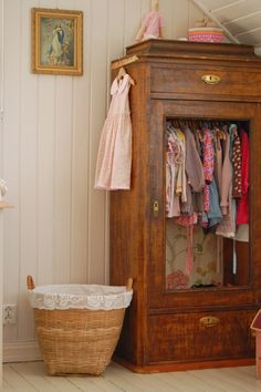 Love the old Dresser closet