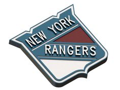 New York Rangers ice hockey team logo #NHL   #3Dmodels   #logo   #icehockey   #NewYorkRangers