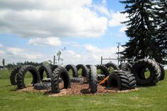 How to build a tire playground--tips, etc.