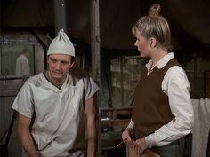 "M*A*S*H: Season 1, Episode 16 The Ringbanger (21 Jan. 1973) Hawkeye"" Pierce, Alan Alda, Major Margaret Houlihan, Hotlips, Loretta Swit"