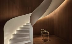 The Barcelona EDITION - Barcelona / Spain / 2018 . Project authors:OAB - Office of Architecture in Barcelona Modern Staircase, Grand Staircase, Staircase Design, Stairs, Spiral Staircases, Staircase Ideas, Barcelona Hotels, Barcelona Spain, Edition Hotel