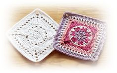 Beautyful Granny Square, Pattern in german