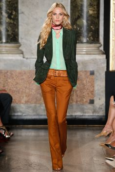 Emilio Pucci Spring 2015 Ready-to-Wear Fashion Show - Aymeline Valade