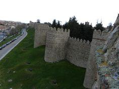 Muralla de la ciudad de Avila - España