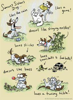 Simon's Cat: introducing Simon's Sister's Dog...