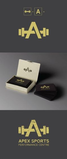 Apex Sports - Minimalist Gym Logo, Michelle Carangi