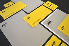 Ark brand identity project - how we encouraged objective feedback and used audio samples in graphic design | Makermet