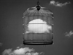 Chema Madoz (caged cloud)