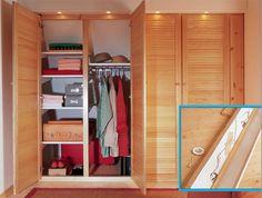 Cabina Armadio Per Hour : ▷ come posare ante scorrevoli per realizzare una cabina armadio
