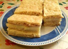 Sárga piskóta: 5 tojás 5 evk liszt 3 evk porcukor Fél cs sütőpor 1 evk étolaj Barna piskóta: 40 dkg liszt 1 cs sütőpor 15 dkg cukor 2 cs vaníliás cukor 2 tojás 25 dkg margarin Csipet só 1 dl tej Krém: Fél liter tej 3 evk keményítő/liszt 1 evk vanília aroma 15 dkg margarin 1 citrom reszelt héja és leve  Elkészítés: A tészta hozzávalóiból gyors mozdulattal tésztát gyúrunk,majd 1 óra hűtés. Közben készítsük el a krémet. Tegyük fel a tejet forrni,majd a keményítővel/liszttel Cornbread, Baking, Ethnic Recipes, Food, Millet Bread, Bakken, Essen, Meals, Backen