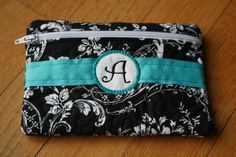 Black and White. You can choose any color ribbon.
