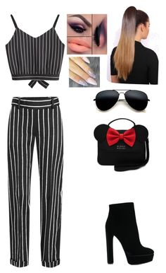 Untitled #2 by irinna-miu on Polyvore featuring polyvore, мода, style, Haider Ackermann, Casadei, fashion and clothing