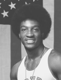Harvey Glance was born March 28, 1957 in Phenix City, Alabama. The greatest sprinter in Auburn history. A three-time Olympian and 1976 gold medal winner. Some of his accomplishments are: 1976-Olympic Gold Medalist; NCAA Champion-60 yards, 100 meters, 200 meters; World Record Holder-100 meters. 1977-SEC Champion-60 yards, 100 meters, 200 meters; NCAA Champion-100 meters. 1978- SEC Champion 60 yards, 100 meters, 200 meters. 1979- Pan Am Games Gold Medalist 100 meters, 4x100 Relay. 1980…
