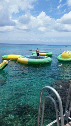 Water trampolines