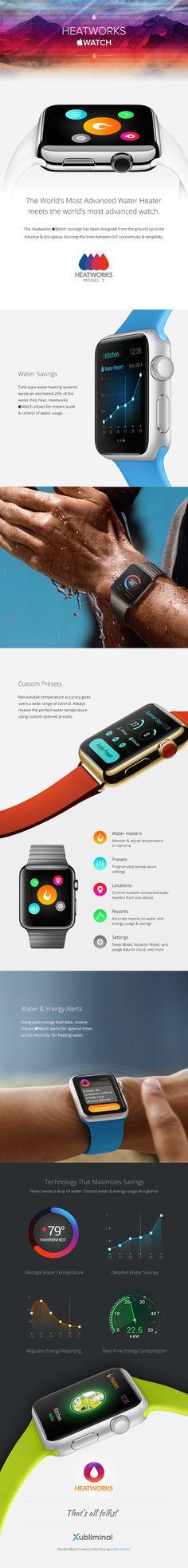 Heatworks Apple Watch App on Behance