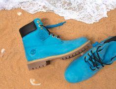 shoes dope timberlands blue grunge cool fierce tomboy grunge boots