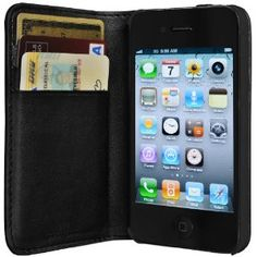 $49.95 - iPhone leather wallet case