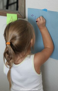 Find and Write Letter Hunt Preschool Activity!