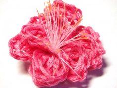 Flor Sakura Croche