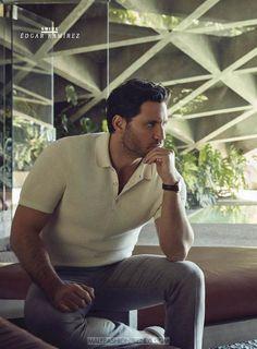 Edgar Ramírez por Frankie Batista para GQ México