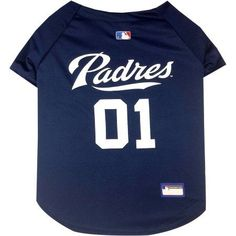 Pets First MLB San Diego Padres Pet Jersey, Blue