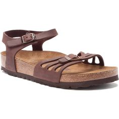 f91208985b06 ... Oiled Leather Sandals. See more. Birkenstock Women s Bali Soft Footbed  Sandals (175 CAD) ❤ liked on Polyvore featuring shoes