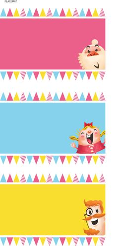Candy Crush for Janice's Birthday Party by Livia Limandry, via Behance