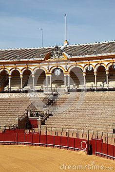 Spain, Andalucia, Bullring in Seville