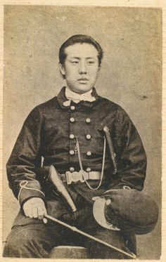 人見勝太郎(1843~1922)幕臣。鳥羽・伏見の戦いに敗れ、伊庭八郎らと蝦夷地へ。維新後は政治家、政治家、実業家として活躍する。
