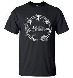 1ad1f129e40 Game of Thrones Men T Shirt 2017 Summer Hip Hop Men Short Sleeve Shirt  Cotton High Quality Men T-Shirts Camiseta Masculsino