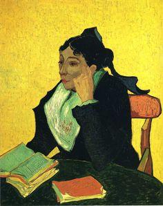Винсент Ван Гог. Девушка с книгой