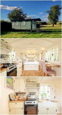 15 dreamy shepherd's huts you can rent – Loft İdeas 2020 Best Tiny House, Tiny House Cabin, Tiny House Living, Tiny House Plans, Tiny House Design, Living Room, Tiny House Movement, Casas Containers, Building A Tiny House
