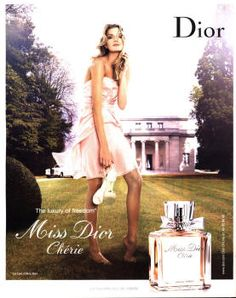 Miss Dior Chérie by Christian Dior with Lily Donaldson (2007).