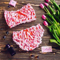 51 отметок «Нравится», 1 комментариев — НИЖНЕЕ БЕЛЬЁ ПИЖАМКИ (@laskez_lingerie) в Instagram: «Добрый солнечный ☀️день, девочки! ⠀ Лёгкая весенняя пижамка из 100% хлопка с романтичными…»