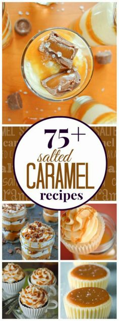 75 Salted Caramel Desserts couldn't track down the recipes but search more and I would
