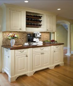 wine cork projects--wine cork backsplash