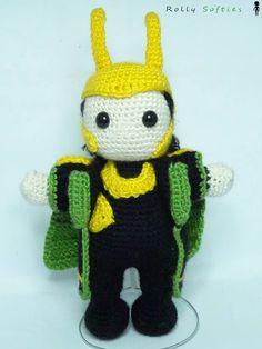 Loki, the God of Mischief Doll - Free Amigurumi Pattern Italian and English (Scroll Down)