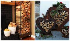 21 Εξαιρετικοί τρόποι για να οργανώσεις τα ξύλα για το τζάκι!