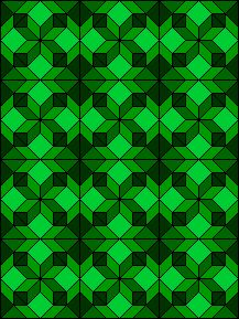 All Hallows example. Paper Pieced Quilt Patterns, Patchwork Patterns, Quilt Block Patterns, Pattern Blocks, Quilt Blocks, Bright Quilts, Purple Quilts, Harry Potter Cross Stitch Pattern, Tessellation Patterns