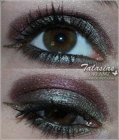 Eye Make Up - Datum: 05.11.2011  http://talasia.blogspot.de/2011/11/swatch-babor-herbstwinter-make-up.html