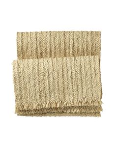Holiday Place Setting: Serena & Lily Raffia Runner | $68