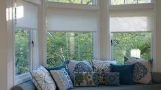 Pasadena Showcase House 2016 Simple Solar Solutions Solar Solutions, Ad Home, Solar Shades, Valance Curtains, Windows, Simple, House, Home Decor, Decoration Home
