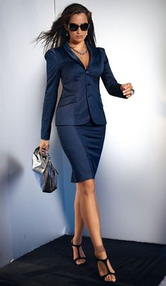 Skirt suit | Keep the Glamour | BeStayBeautiful