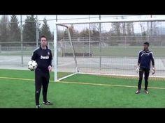 Soccer Skills - How To Make A Save In Soccer - Goalkeeper Soccer Skills