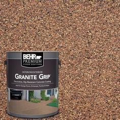 BEHR Premium 1 gal. #GG-10 Copper Marble Decorative Concrete Floor Coating